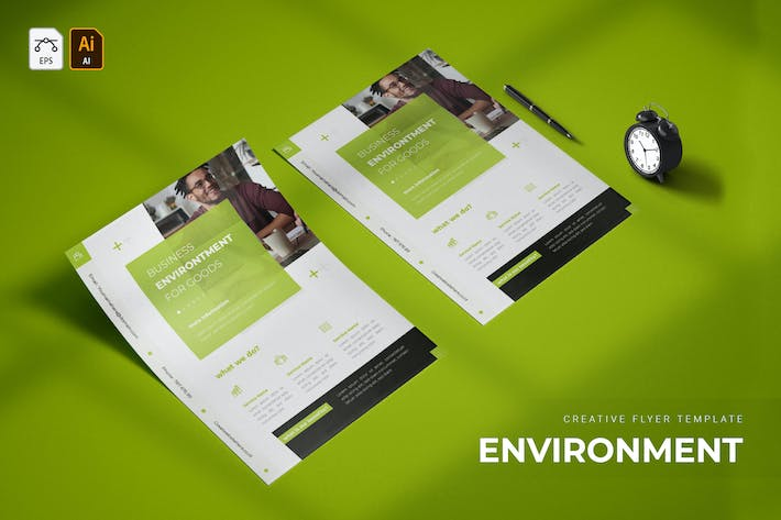 Thumbnail for Business Environment | Flyer