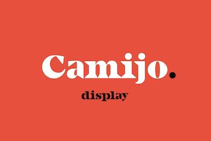 Camijo Display Serif Font