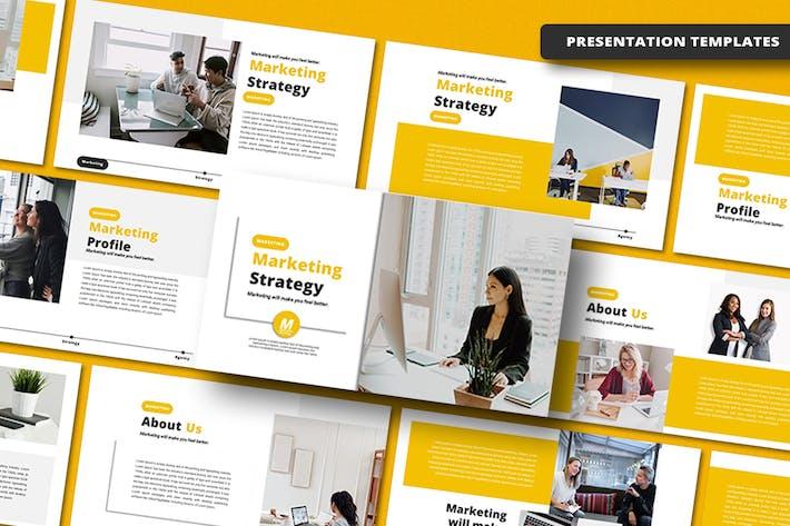 Marketing Strategy - Keynote Template