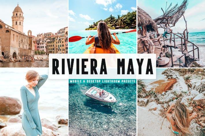 Thumbnail for Riviera Maya Mobile & Desktop Lightroom Presets