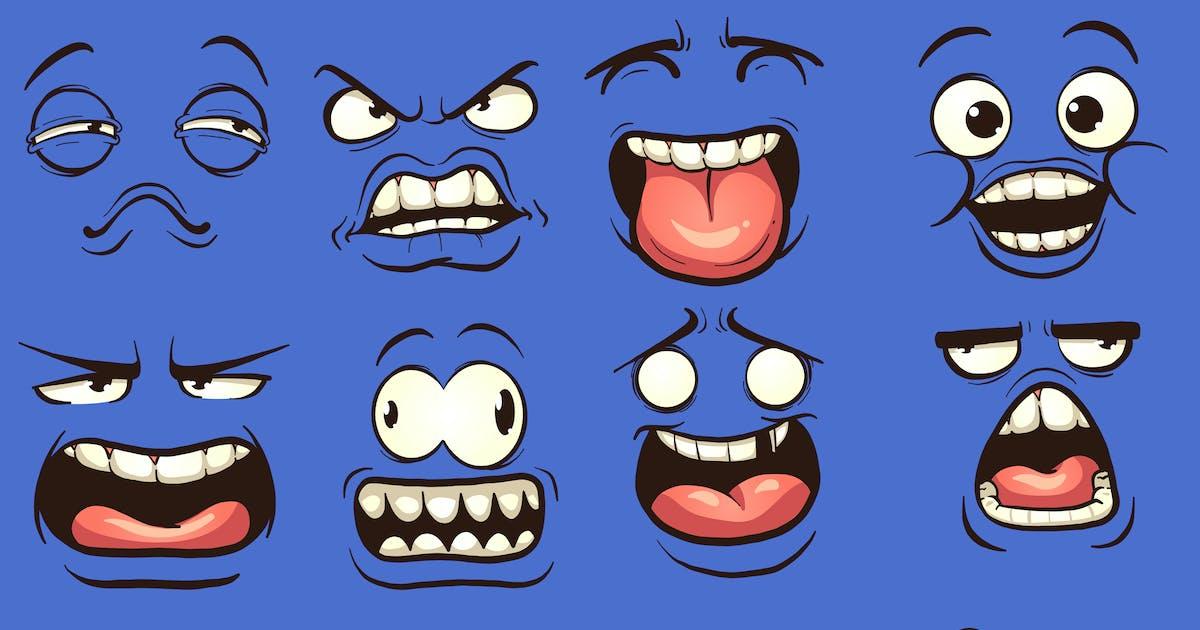 Download Cartoon Faces by memoangeles