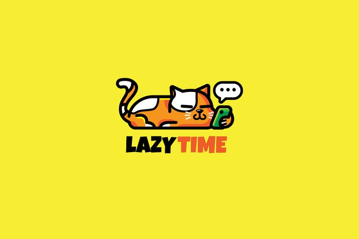 Cover Image For cat lazy - Mascot & Esport Logo