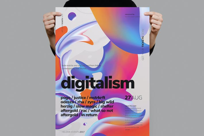 Thumbnail for Poster Digitalistm/dépliant