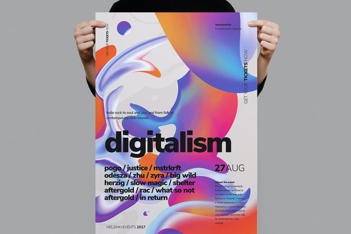 Thumbnail for Digitalistm Poster / Flyer