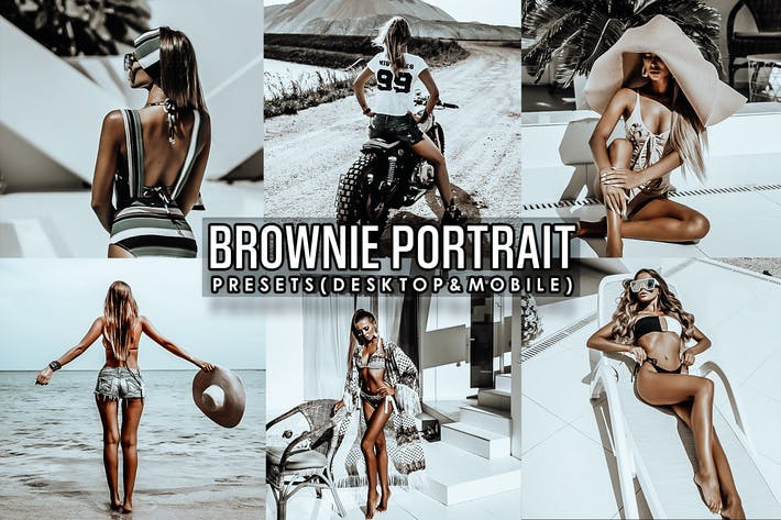 Thumbnail for Brownie Portrait Lightroom Presets