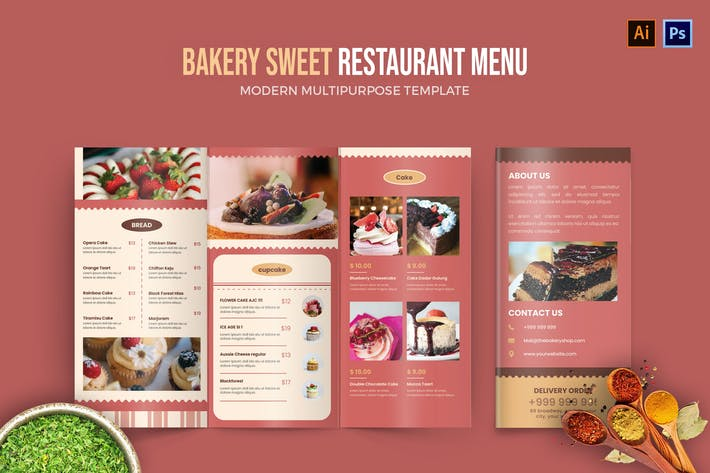 Thumbnail for Bakery Sweet - Restaurant Menu