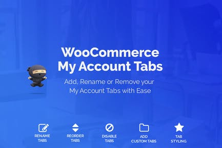 WooCommerce My Account Page Customizer