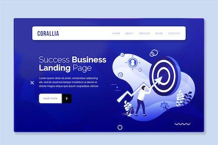 Coralia - Hero Banner Landing Page