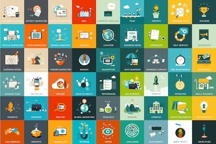 54 Geschäfts- und Marketingkonzepte