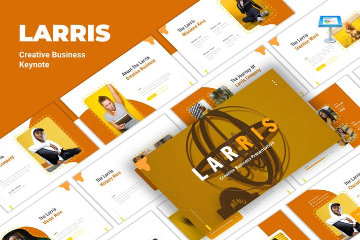 Thumbnail for Larris - Creative Business Keynote Template