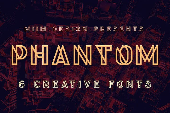 Thumbnail for Phantom - Display Font