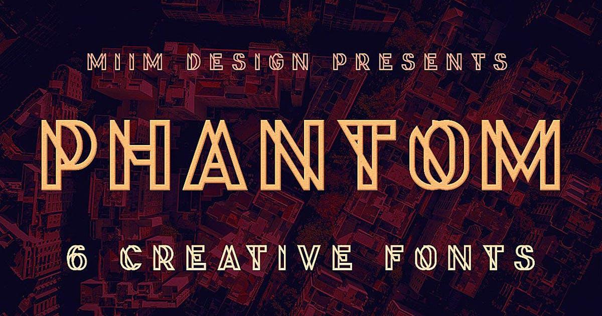 Download Phantom - Display Font by cruzine