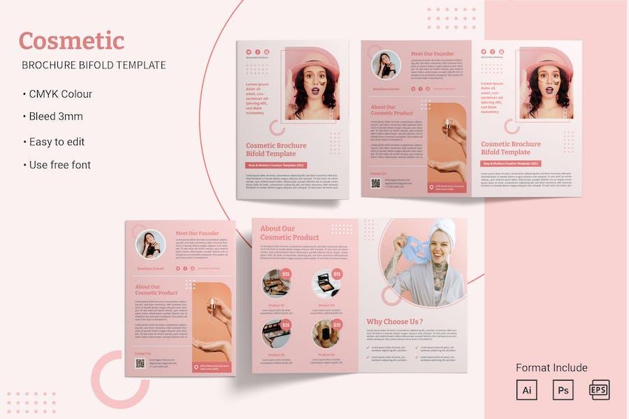 Bifold Brochure - Cosmetic Brochure