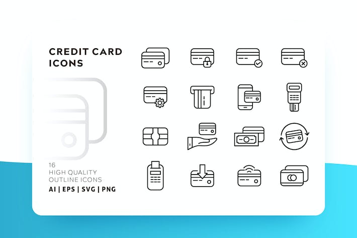 Thumbnail for CREDIT CARD OUTLINE