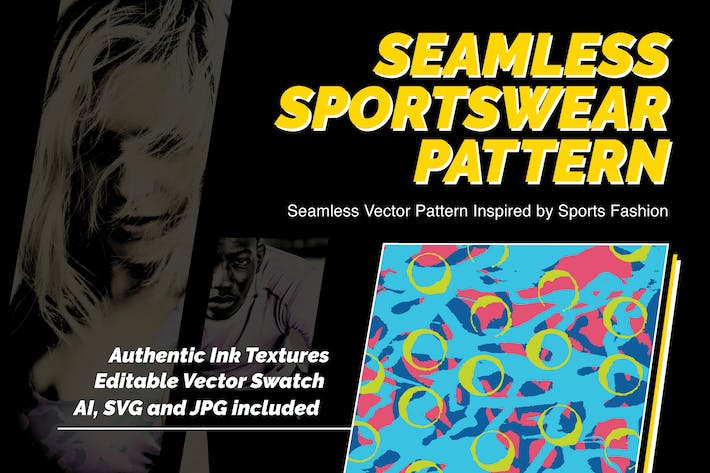 Thumbnail for Modern Sportswear Seamless Pattern