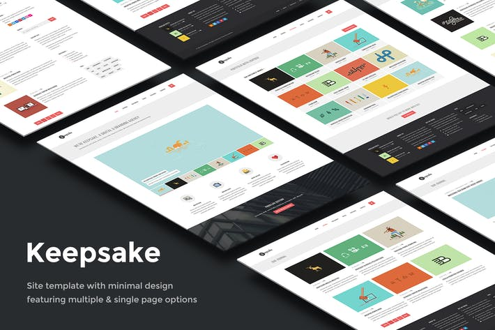 Thumbnail for Keepsake - Multipurpose Single/Multi-page Template