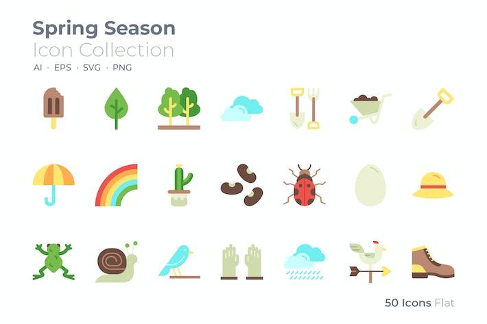 Thumbnail for Farb-Symbol für Frühlingssaison