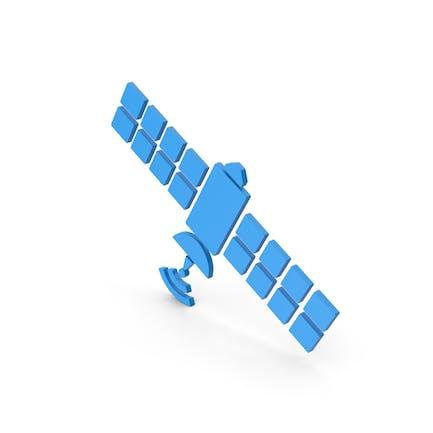 Symbol Satellite Blue
