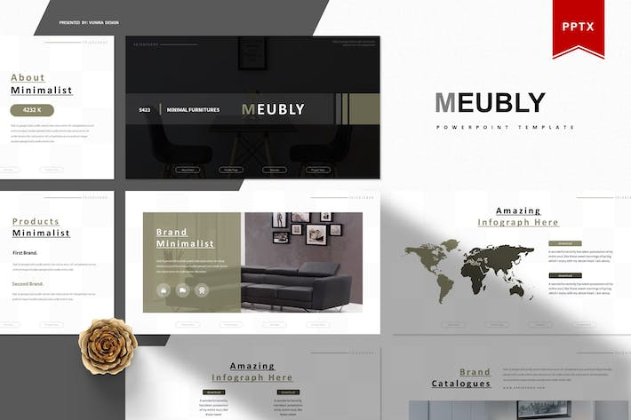 Thumbnail for Meubly | Powerpoint Template