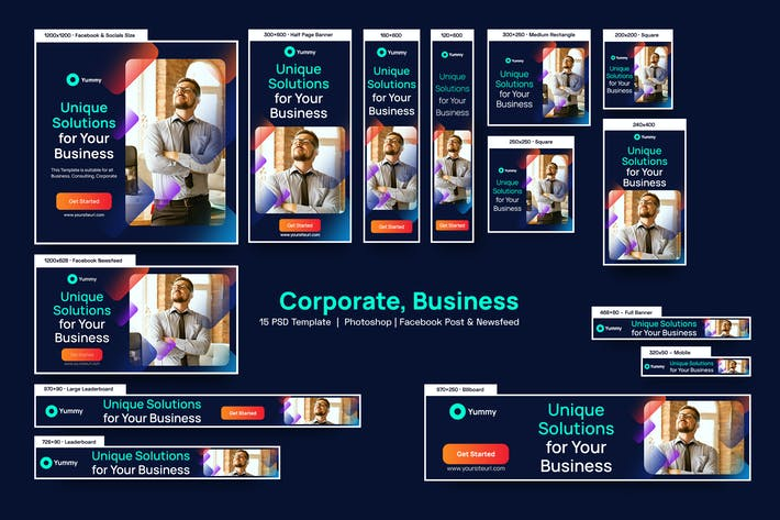 Business,Corporate Banners Ad