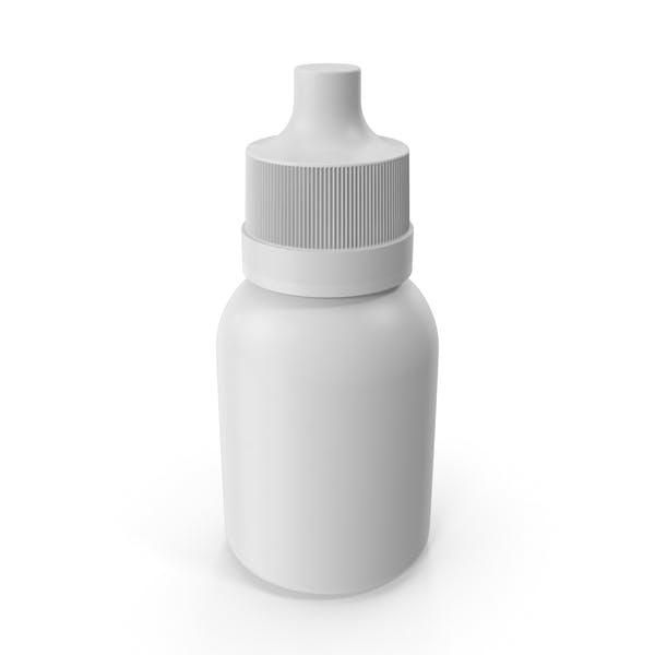 Thumbnail for Белая бутылка с капельницей