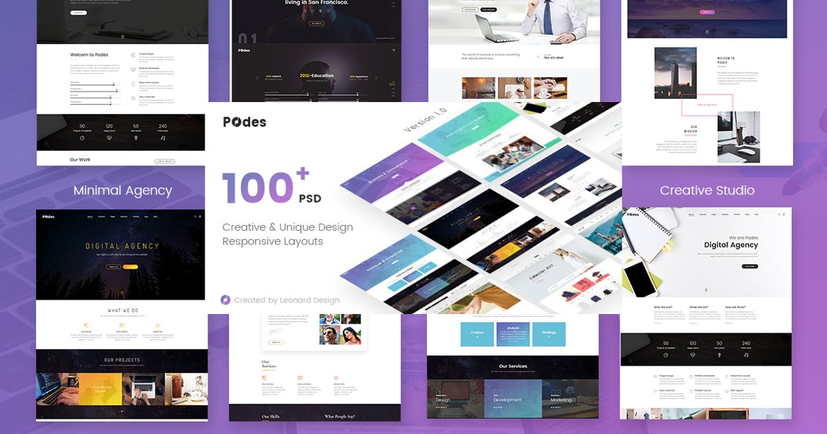 Download Podes | Responsive Multi-Purpose HTML Template by themesflat