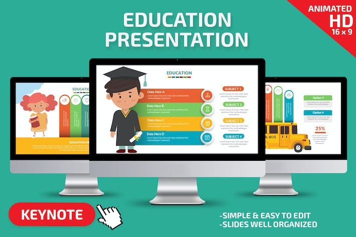 Thumbnail for Education Keynote Presentation