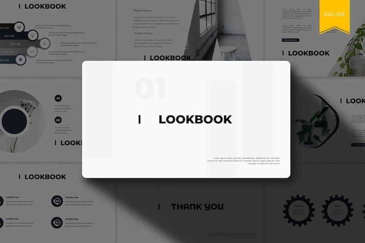 Thumbnail for Lookbook | Google Slides Template