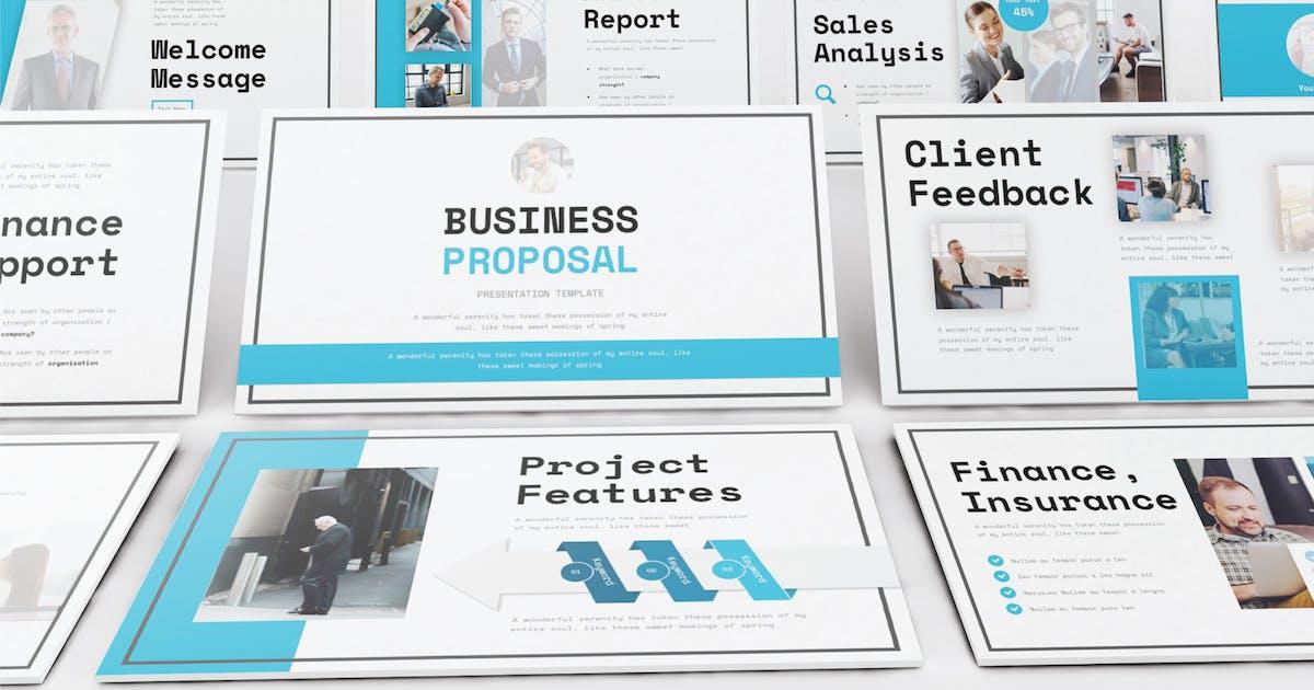 Download BUSINESS PROPOSAL - Keynote V298 by Shafura