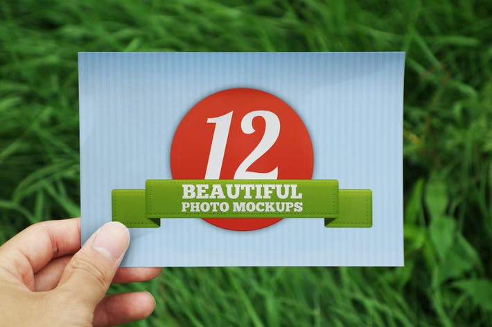 Thumbnail for 12 Outdoor Photo Mockups