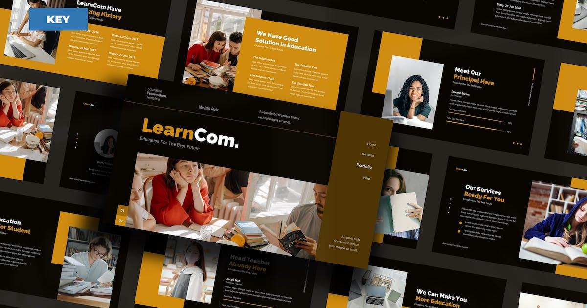 Download LearnCom Education - Keynote UP by Rometheme