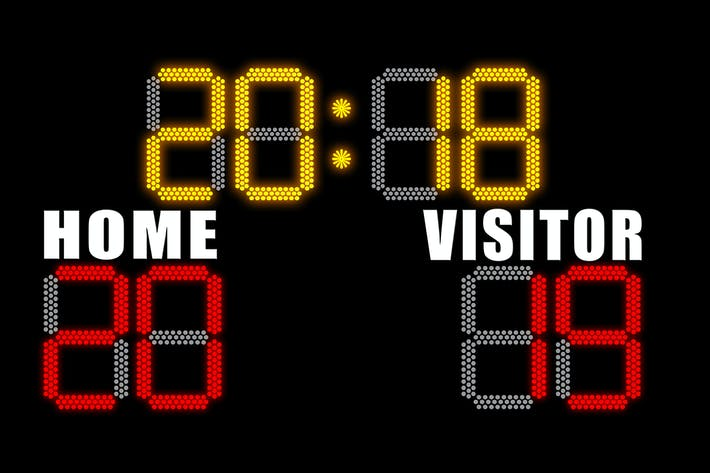 Thumbnail for Concept on electronic scoreboard