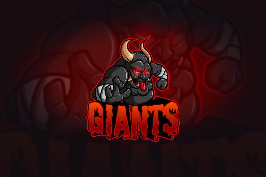 Giant - Mascot & Esport Logo