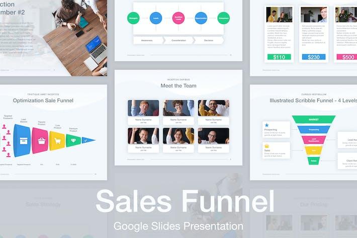 Thumbnail for Sales Funnel Google Slides Template
