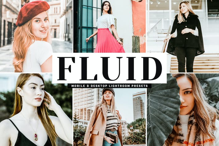 Thumbnail for Fluid Mobile & Desktop Lightroom Presets