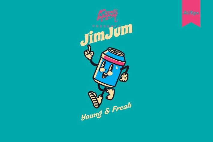 Thumbnail for Jim Jum Logo Template