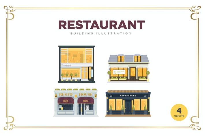 Cover Image For Restaurant Building