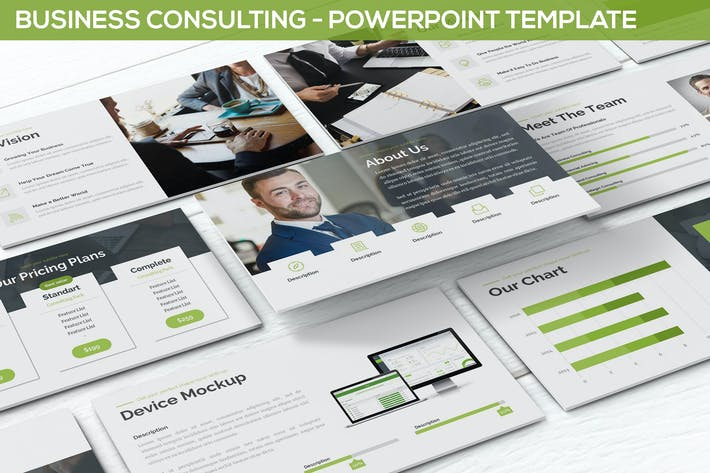 Thumbnail for Business Consulting - Powerpoint Template