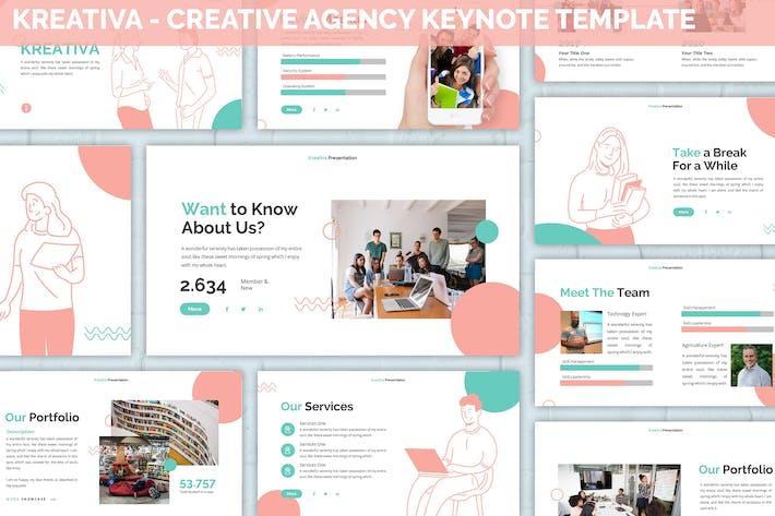 Kreativa - Creative Agency Keynote Template