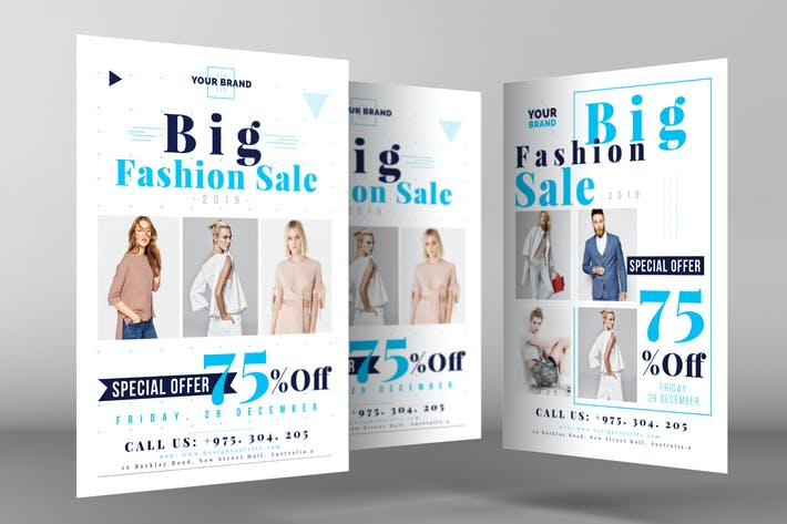 Thumbnail for Fashion Sale Flyer