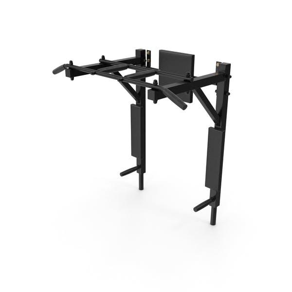Multi Function Wall Mounted Horizontal Bar