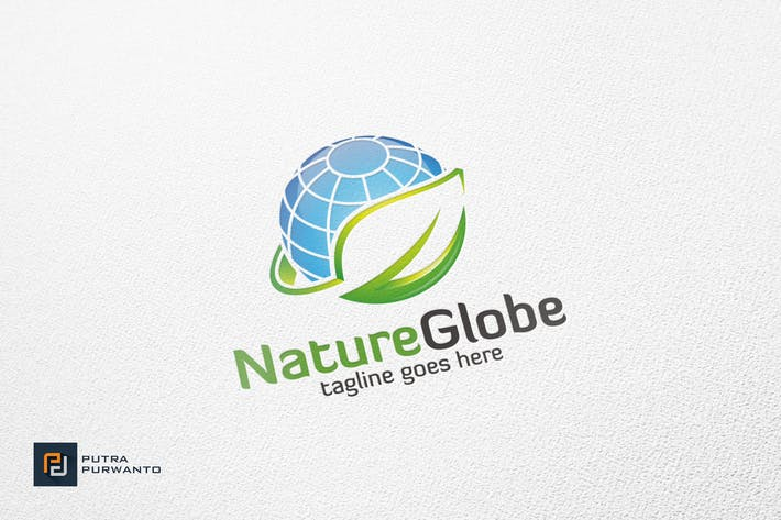 Thumbnail for Nature Globe - Logo Template