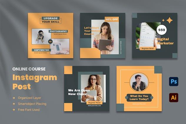 Online Course Instagram Post