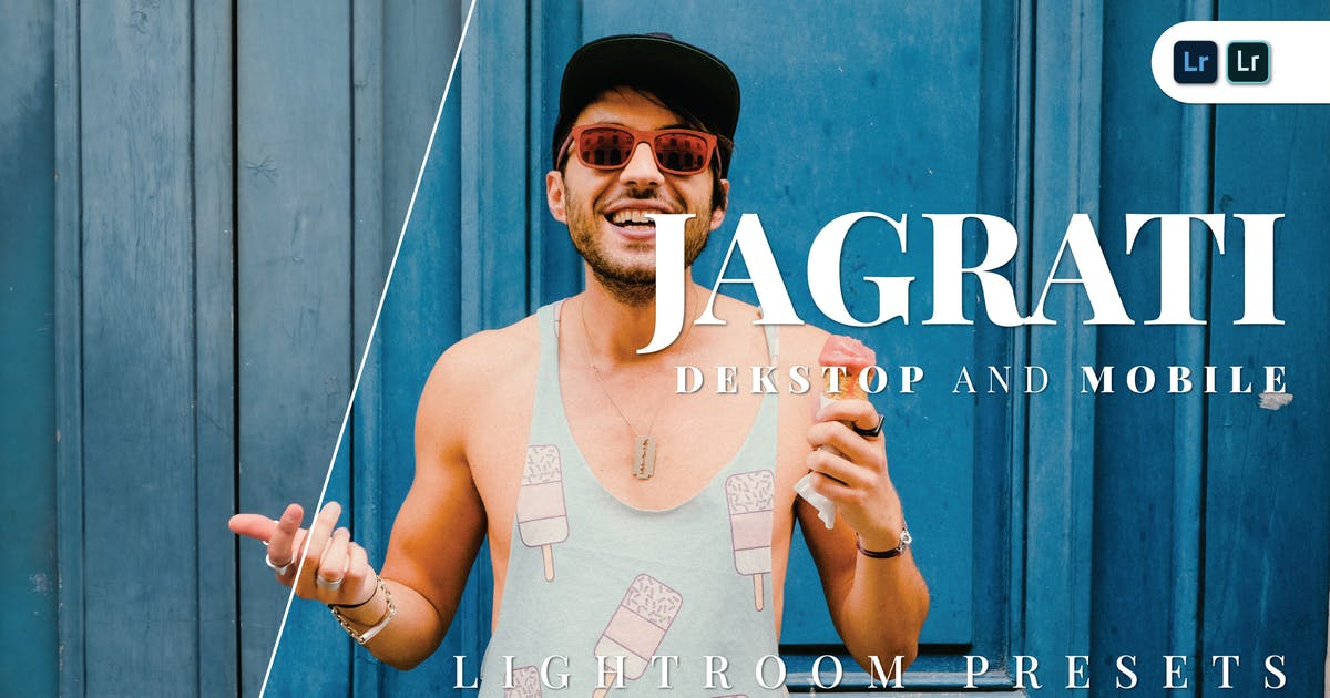 Download Jagrati Desktop and Mobile Lightroom Preset by Bangset