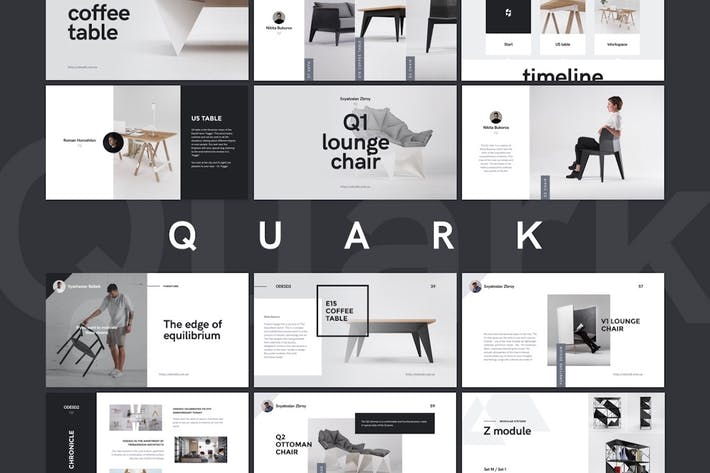 Thumbnail for Quark Keynote Presentation Template