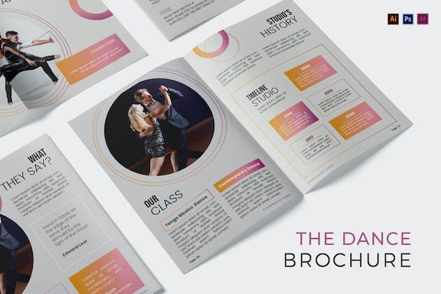 Dance Studio Brochure - product preview 4