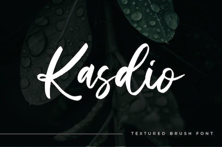 Thumbnail for Kasdio - Casual Brush Font