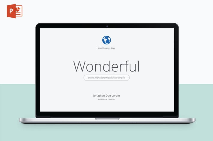 Thumbnail for WONDERFUL - Multipurpose PowerPoint Template V20