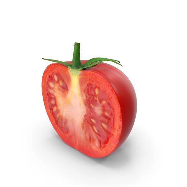 Tomate Halbschnitt