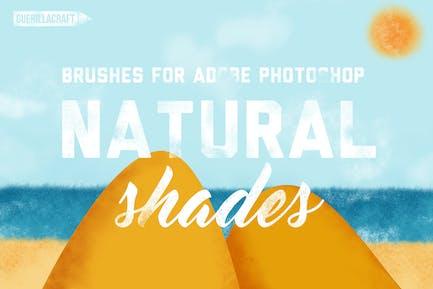 Натуральные оттенки Кисти для Adobe Photoshop